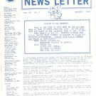 Marquetry Society Of America News Letter January 1982 Not PDF Patterns Artistry In Wood