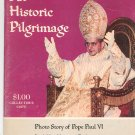 Vintage An Historic Pilgrimage Pope Paul VI Collectors Copy Trek To Holy Land