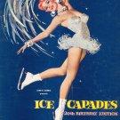 Souvenir Ice Capades Program 20th Birthday Edition Vintage John H. Harris