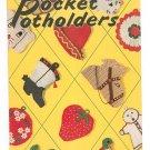 Vintage Pocket Potholders Star Book 69 American Thread Crochet