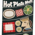 Vintage Hot Plate Mats Star Book 70 American Thread Crochet