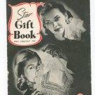 Vintage Star Gift Book Knit Crochet Tat Star Book 31 American Thread Crochet
