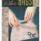Vintage Crocheted And Knitted Bags Book 57 Spool Cotton