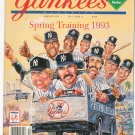 Yankees Magazine Back Issue March 1993 With Poster Not PDF