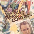 Vintage Just A Little Closer Sheet Music Remote Control Johnson Meyer