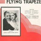 Vintage The Man On The Flying Trapeze Olsen & Shutta On Cover Sheet Music Calumet