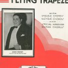 Vintage The Man On The Flying Trapeze Romo Vincent On Cover Sheet Music Calumet