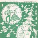 Vintage The Merry Christmas Polka Webster  & Burke Sheet Music