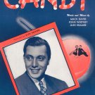 Vintage Candy David Whitney Kramer Ted Martin On Cover Sheet Music