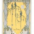 Vintage Alabama Lullaby Cal DeVoll Sheet Music