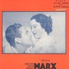 Vintage Alone Arthur Freed & Nacio Brown Sheet Music A Night At The Opera