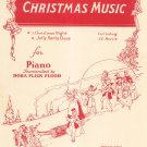 Vintage Christmas Night Carl Ludwig Sheet Music For Piano