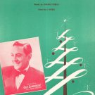 Vintage Merry Christmas Waltz Guy Lombardo On Cover Sheet Music