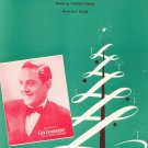 Vintage Merry Christmas Waltz Guy Lombardo On Cover Sheet Music