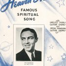 Vintage Heaven Heaven Spiritual Song Pat Kennedy On Cover Sheet Music