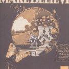 Vintage Make Believe Davis & Shilkret Sheet Music