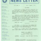 Marquetry Society Of America News Letter July - August 1976 Not PDF Patterns Artistry In Wood