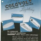 Vintage Colovolt Cold Cathode Low Voltage Lighting General Luminescent Catalog / Pamphlet