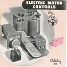 Vintage Electric Motor Controls by Furnas Catalog 1948