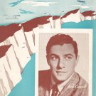 Vintage There'll Be Blue Birds Over The White Cliffs Of Dover Sheet Music Bob Carroll On Cover