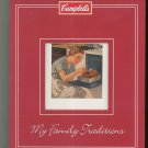 Campbell's Sharing My Family Traditions Recipe Keepsake Binder 1412749883