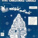 Guitar Solos Of Five Christmas Carols Sheet Music Not PDF