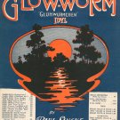 The Glow Worm by Paul Lincke Sheet Music Vintage Gluhwurmchen Idyl