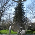 Adorable Bunny Rabbit With Bow Wind Chimes Carson