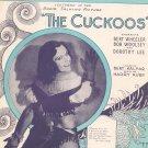 Vintage I Love you So Much Sheet Music Kalmar Ruby The Cuckoos