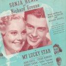 Vintage I've Got A Date With A Dream Henie & Greene On Cover Sheet Music Gordon Revel