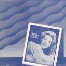 Vintage I'll Walk Alone Dinah Shore On Cover Sheet Music Cahn Styne