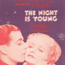 Vintage When I Grow Too Old To Dream Sheet Music Hammerstein Romberg
