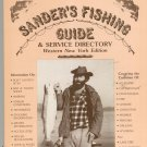 Sander's Fishing Guide & Service Directory Western New York  First Edition John Sander