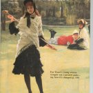 Smithsonian Magazine October 1992 Back Issue Not PDF Croquet Tissot's Young Woman