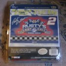 Rusty's Last Call 2 Sided 3 x 5 Flag NASCAR Rusty Wallace In Package