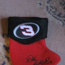 Dale Earnhardt Number 3 Miniature Christmas Stocking