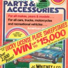 Vintage J.C. Whitney Automotive Parts & Accessories Catalog Number 342 1975