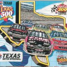 Texas 500 1998 Souvenir Program With Patch Texas Motor Speedway