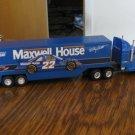 Maxwell House 22 Car Tractor Trailer Truck Model NASCAR