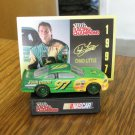 NASCAR Racing Champions Chad Little 1997 Model Car With Display John Deere 97