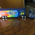 Du Pont Racing Team 24 Car Tractor Trailer Truck Model
