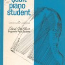 Vintage Adult Piano Student Level One by David Carr Glover