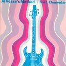 Vintage Electric Bass Al Vessa's Method Volume 1 Elementary