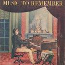 Chopin's Music To Remember Samuel Spivak Schuberth