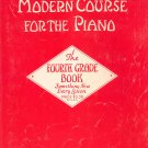 John Thompsons Modern Course For The Piano Fourth Grade Book Vintage Willis Music Co.