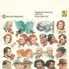 Vintage Plattsburgh New York 1975 1976 Telephone Directory Book NY