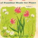 Highlights Of Familiar Music For Piano Volume 1 Denes Agay