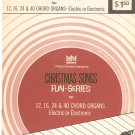 Vintage Christmas Songs For Chord Organs Fun Series GTR