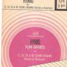 Vintage Hymns Songs For Chord Organs Fun Series GTR