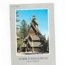 Norsk Folkemuseum Norwegian Folk Museum Guide Book 8271820087